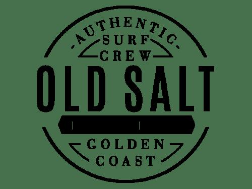 Logo old salt apparel marca de surf